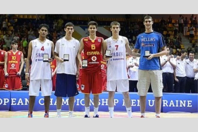 Святослав Михайлюк у символічній п'ятірці U16 Чемпіонату Європи
