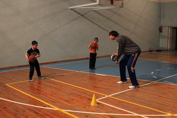 Тренер збірної України провів черговий майстер-клас для школярів