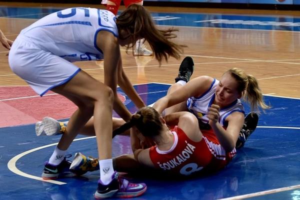 """Жіноча """"молодіжка"""" виграла третій матч на чемпіонаті Європи"""