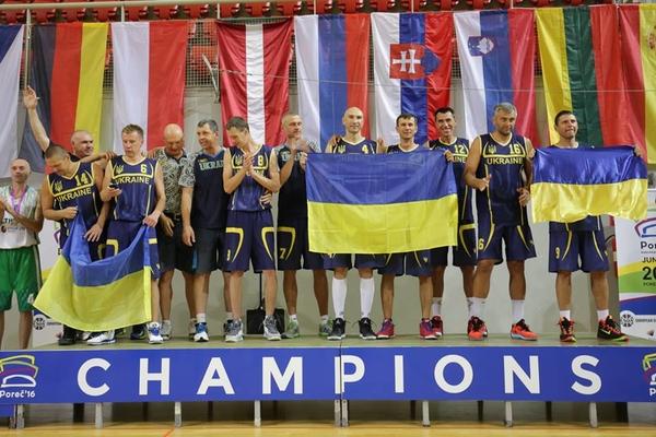 Українські ветерани успішно виступили на чемпіонаті Європи