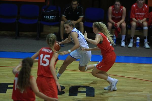 Жіноча юнацька збірна України U-18 обігрує Данію на Чемпіонаті Європи: фотогалерея