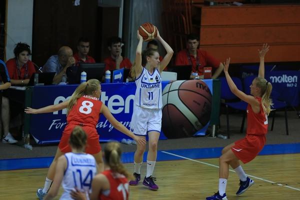 Жіноча збірна U-18 перемогою закінчила чемпіонат Європи