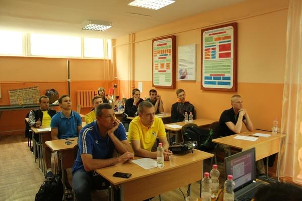 Програма семінару по підготовці арбітрів і комісарів у Черкасах
