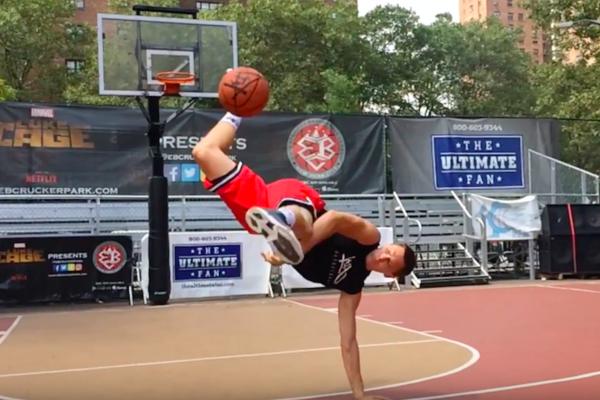 Баскетбольні трюки від Смува в Ракер-парку