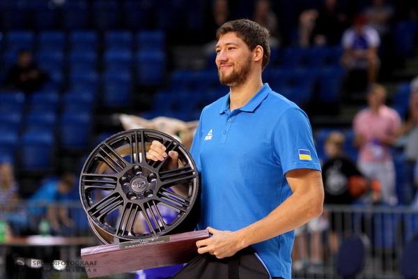 Український центровий став MVP турніру в Естонії