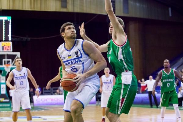 Україна стартувала з перемоги над Болгарією у кваліфікації ЄвроБаскету-2017