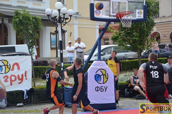 У Чернівцях зіграно етап чемпіонату України з баскетболу 3х3